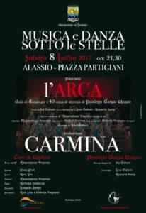 Carmina Alassio locandina 2017